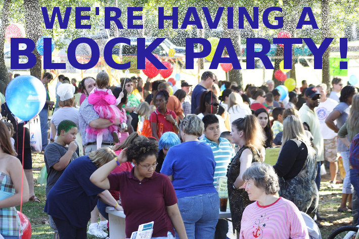 Block Party Photo